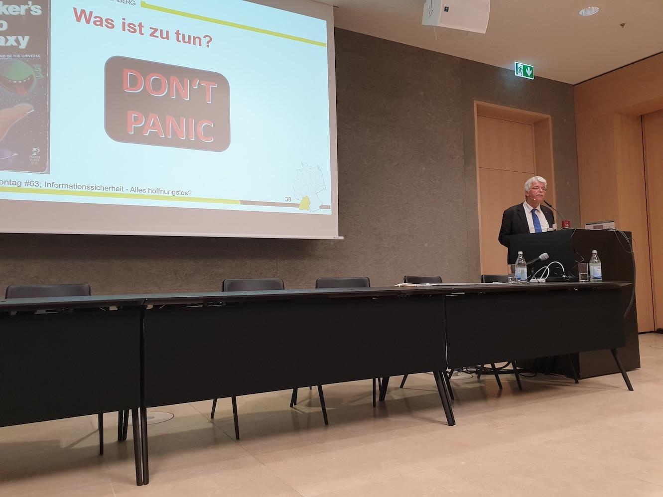Vortrag Dr. Rolf Häcker